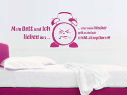 Wandtattoo fürs Schlafzimmer - Traumhafte Wandtattoos im Schlafzimmer