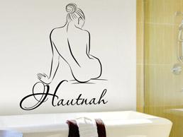 Bad: Wandtattoo Worte fürs Bad - Badezimmer Wandtattoos