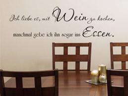 kulinarische Wandtattoo Sprüche - Wandtattoo Spruch für die Küche