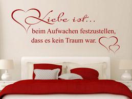 wandtattoo verliebt spruch wandtattoos zum thema liebe. Black Bedroom Furniture Sets. Home Design Ideas