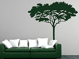 wandtattoo savanne in afrika von. Black Bedroom Furniture Sets. Home Design Ideas