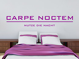 wandtattoo banner gute nacht von. Black Bedroom Furniture Sets. Home Design Ideas