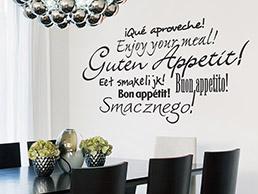 Küche: Wandtattoo Worte für die Küche - Wandtattoos