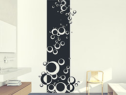 Banner Retro Bubbles